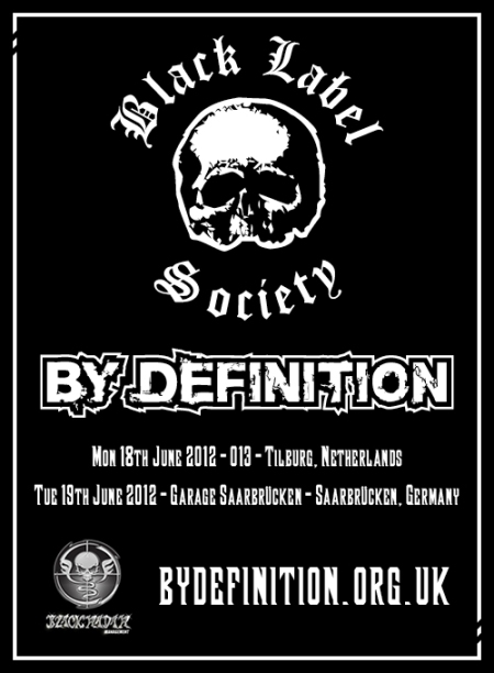 By Definition to support Black Label Society