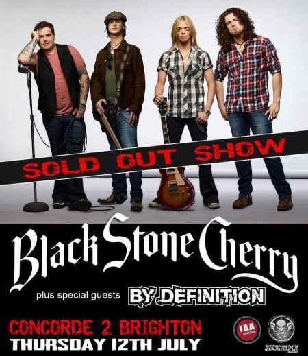 Black Stone Cherry @ Concorde 2